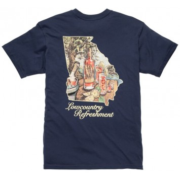 Navy Lowcountry Refreshment Tee
